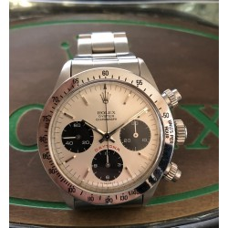 Rolex Daytona Ref. 6265 crème BIG RED