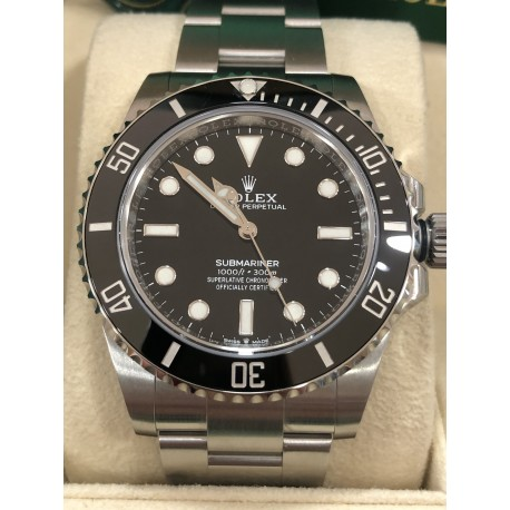 Rolex New Submariner No Date - reference 124060