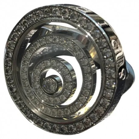 Chopard Happy Spirit bague en or gris 825425-1110