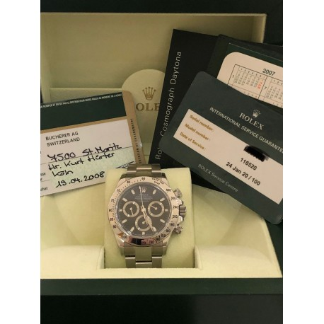 Rolex Daytona Ref. 116520 full set 2008