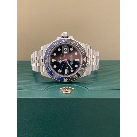 Rolex GMT - Batman - Master II Ref. 126710BLNR New
